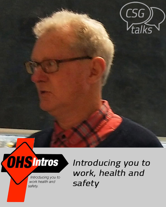 CSG July 2020 Presenter: Barry Naismith, OHS Intros