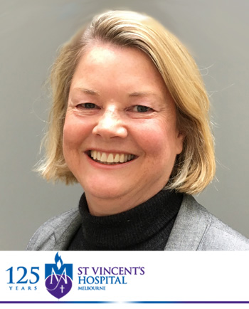 CSG March 2021 Presenter: Christina Rennick, General Manager Health, Safety and Wellbeing, St Vincent's Hospital, Melbourne